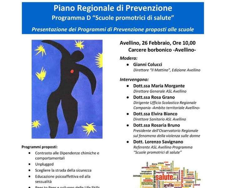 Asl Piano Regionale Di Prevenzione Scuole Promotrici Di Salute Ariano News